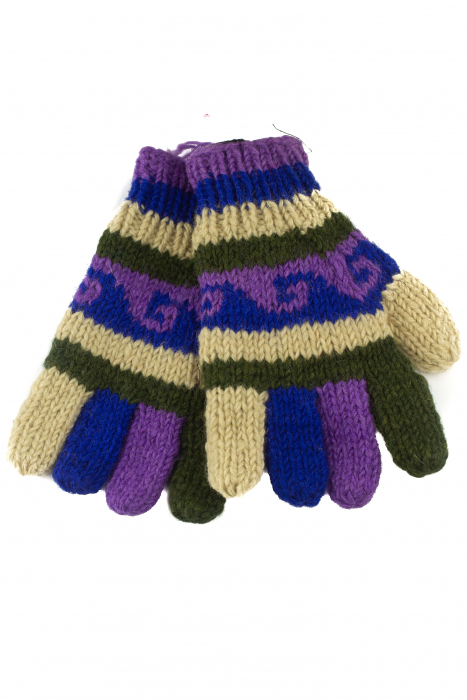 Manusi de lana - Color combo 65 0