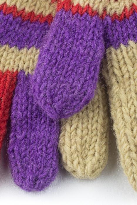 Manusi de lana - Color combo 66 1