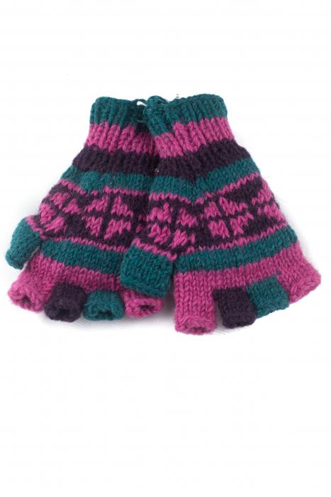 Manusi de lana fingerless - COMBO 76 0