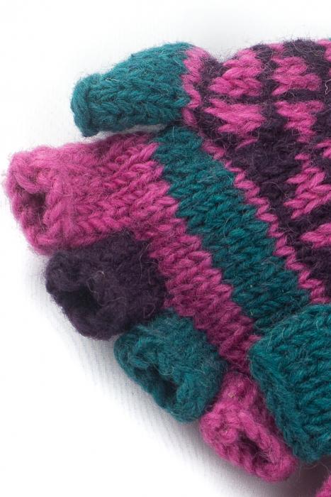 Manusi de lana fingerless - COMBO 76 1