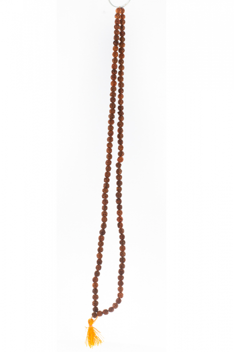 Colier - Praying rudraksha beads 1