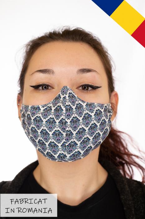 Masca bumbac cu filtru pentru adulti - Motiv 3 0