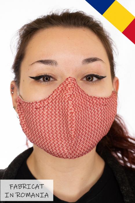 Masca bumbac cu filtru pentru adulti - Motiv 5 0
