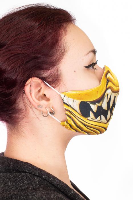 Masca bumbac cu filtru pentru adulti - Smile 2