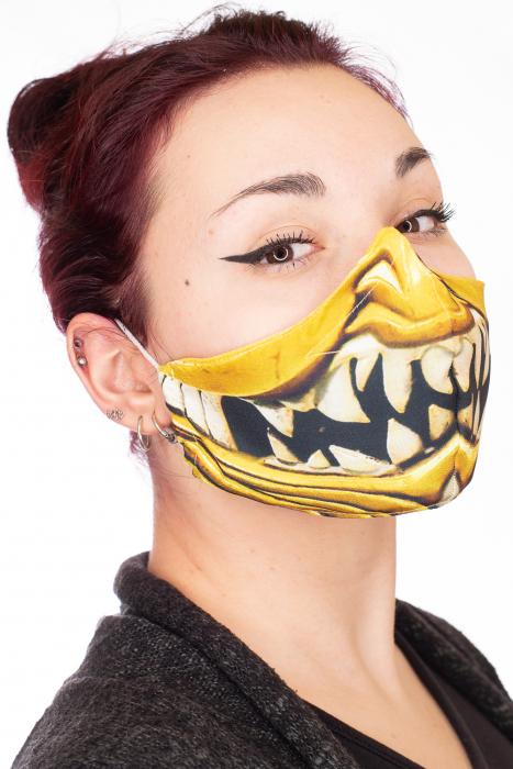 Masca bumbac cu filtru pentru adulti - Smile 1