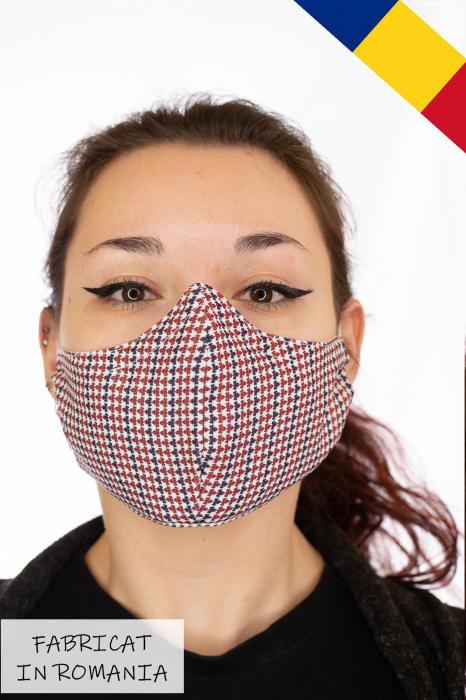 Masca bumbac cu filtru pentru adulti - Motiv 1 0