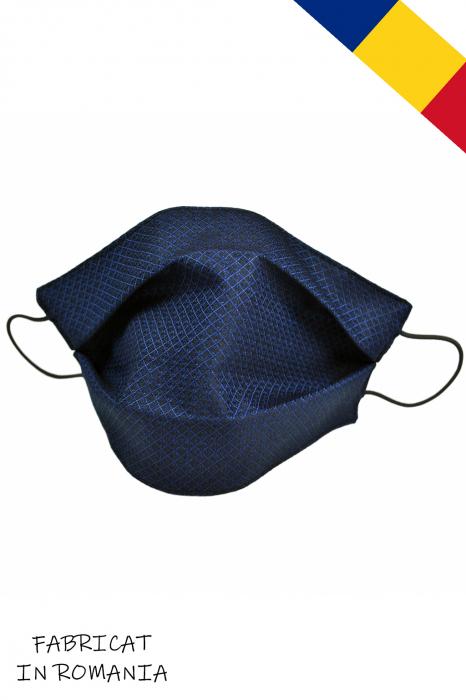 Masca bumbac pentru Copii fara filtru - Bleumarin Cool [0]