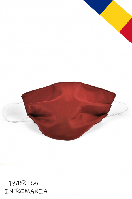 Masca bumbac pentru Copii fara filtru - Bordo Elegant 0