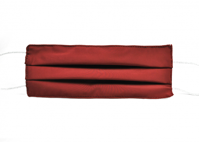 Masca bumbac pentru Copii fara filtru - Bordo Elegant 1