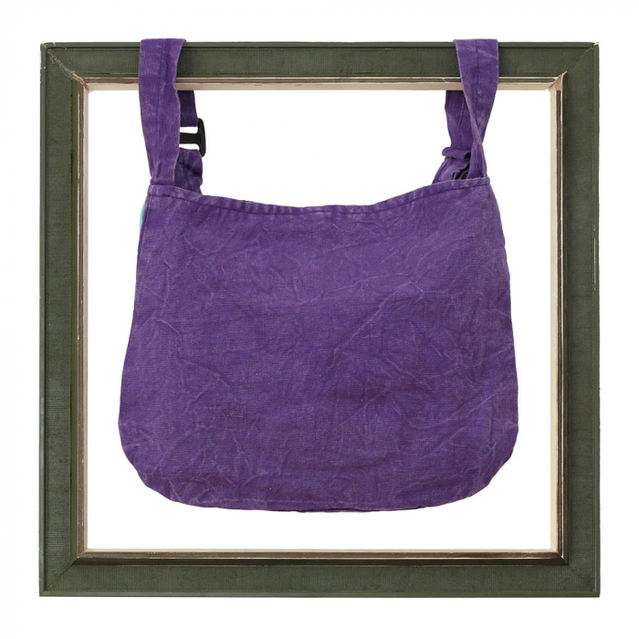 Mini geanta din bumbac - Peace 3 1