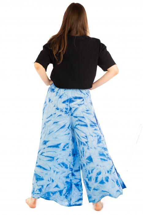 Pantaloni Tie-Dye - Albastru [3]