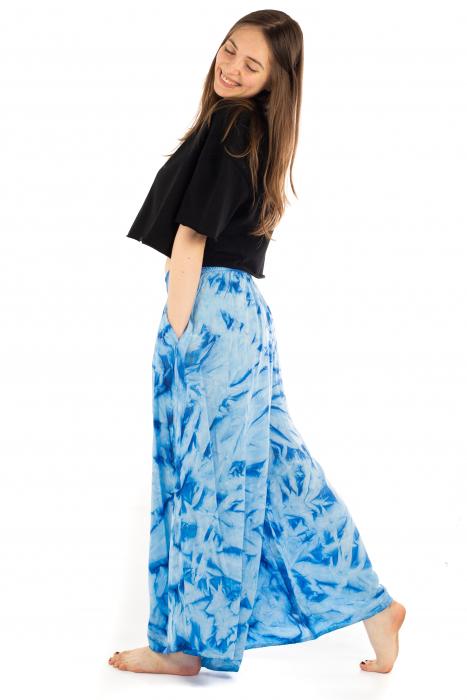 Pantaloni Tie-Dye - Albastru [2]
