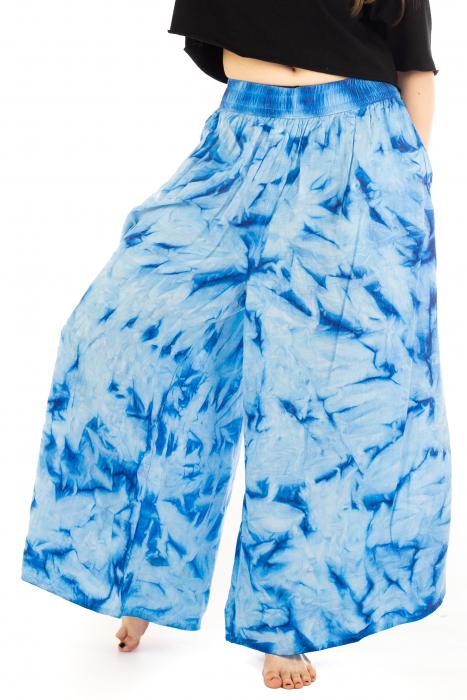 Pantaloni Tie-Dye - Albastru [0]