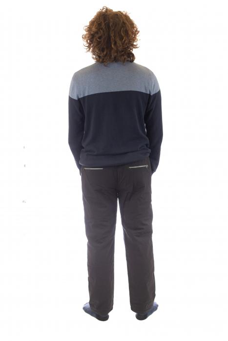 Pantaloni de drumetie captusiti de iarna - Black [3]