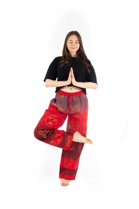 Pantaloni lejeri rosii - Heart of Hinduism [4]