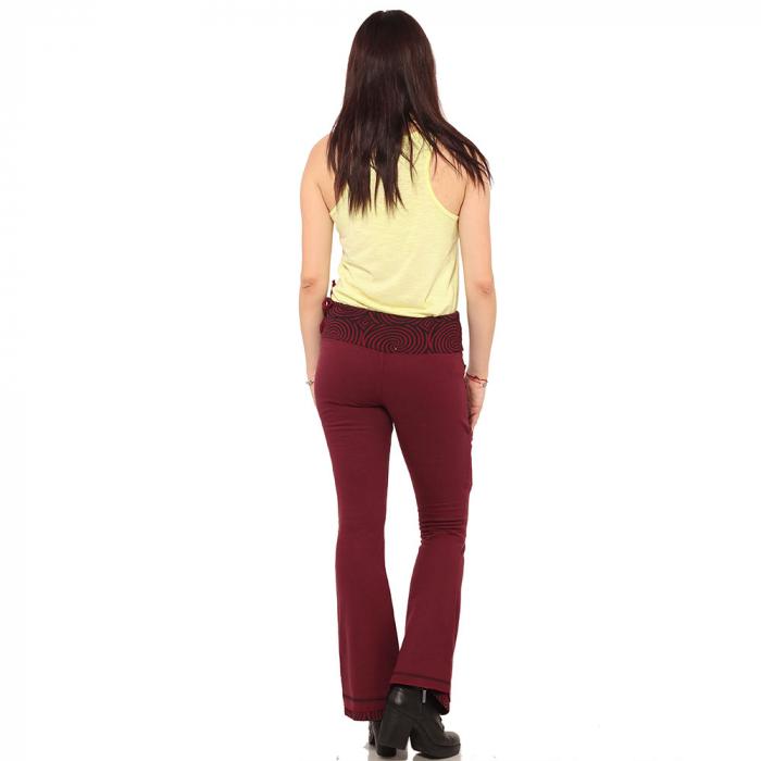Pantaloni burgundy - Spirals 2