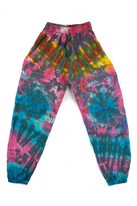 Pantaloni copii - Tie-Dye [0]