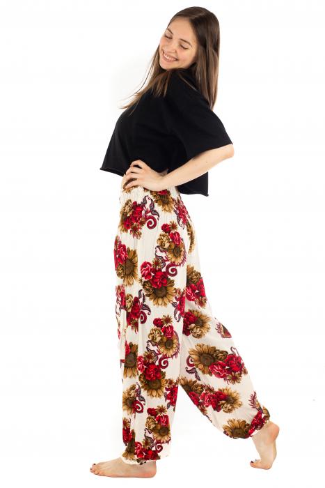 Pantaloni cu banda elastica - Floarea-Soarelui [2]