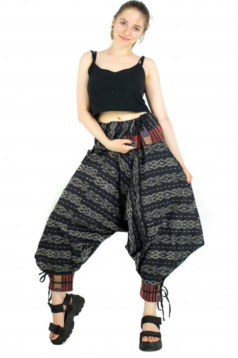 Pantaloni cu motive etnice - model 11 [5]