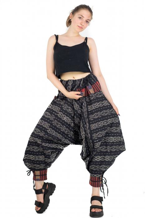 Pantaloni cu motive etnice - model 11 [4]