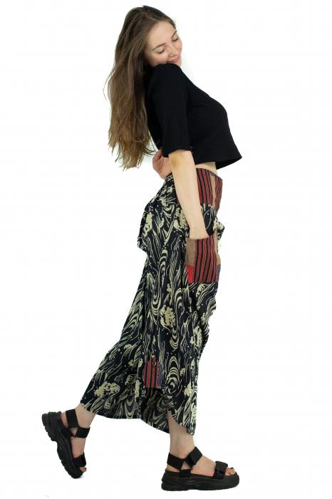Pantaloni cu motive etnice - model 9 [2]