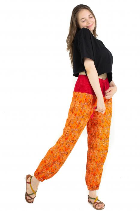 Pantaloni cu print - Grapefruit [3]