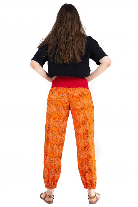 Pantaloni cu print - Grapefruit [5]