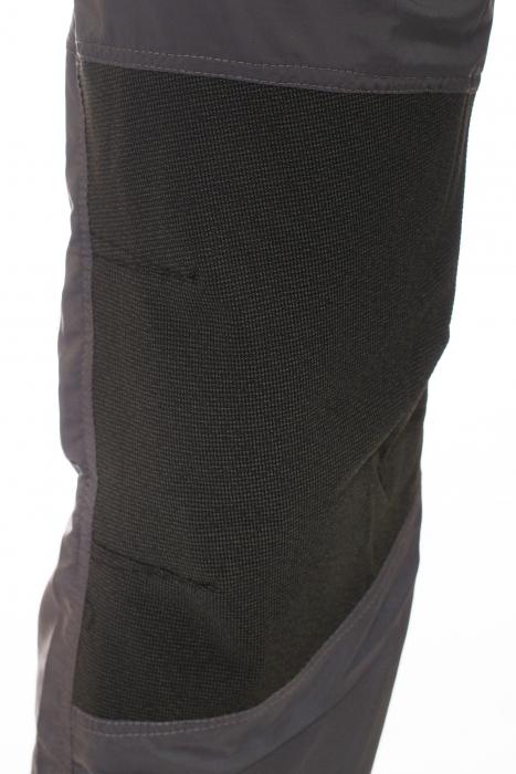 Pantaloni de drumetie - Gri cu negru 5