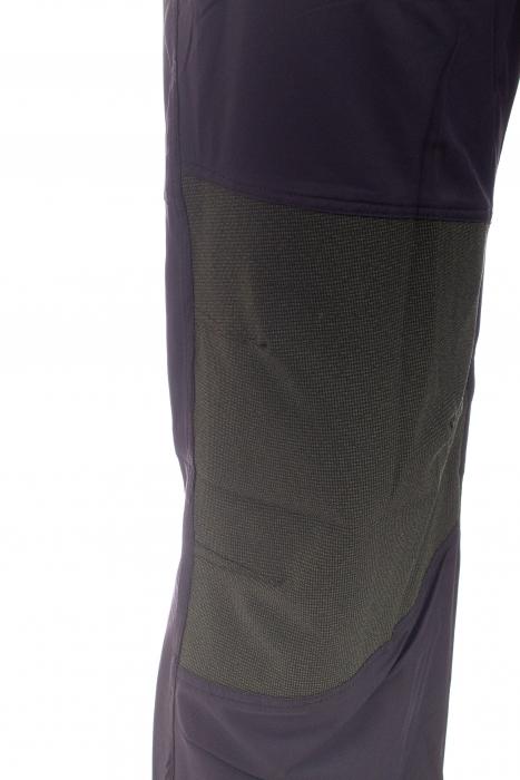 Pantaloni de drumetie - Verde cu negru 4