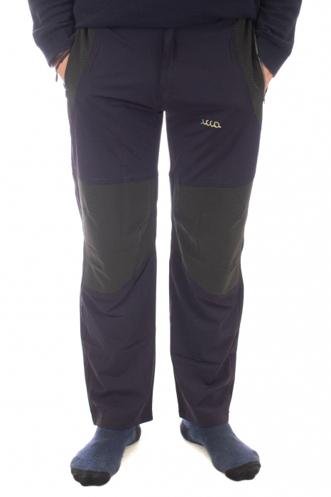 Pantaloni de drumetie - Verde cu negru 0