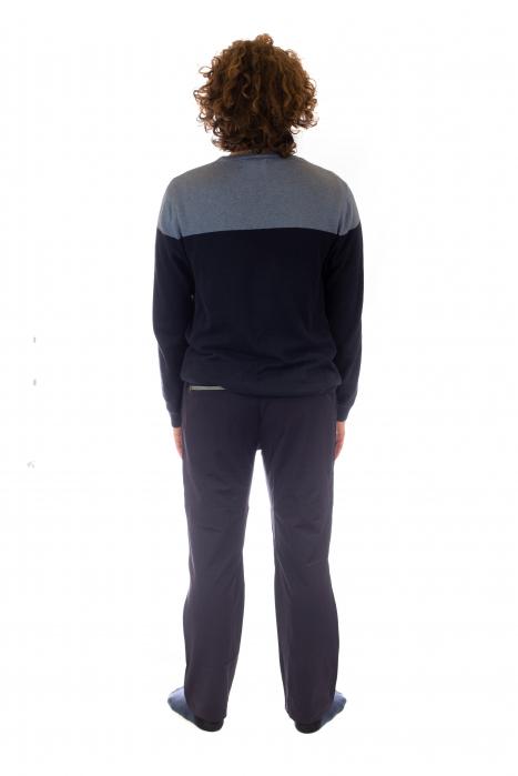 Pantaloni de drumetie - Verde cu negru 3