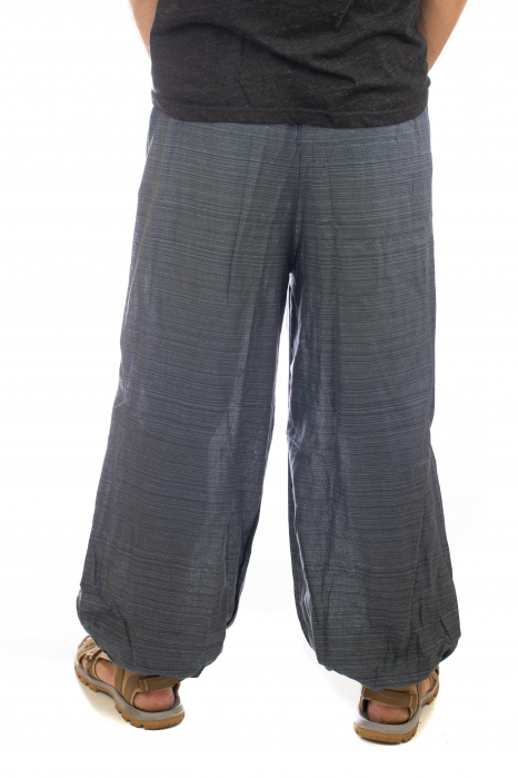 Pantaloni din bumbac cu buzunar exterior - Model 3 3