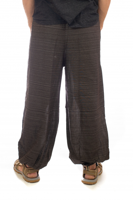 Pantaloni din bumbac cu buzunar exterior - Model 4 3