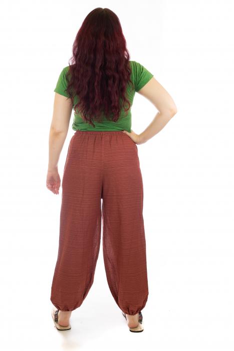 Pantaloni din bumbac cu buzunar exterior - Model 7 [4]