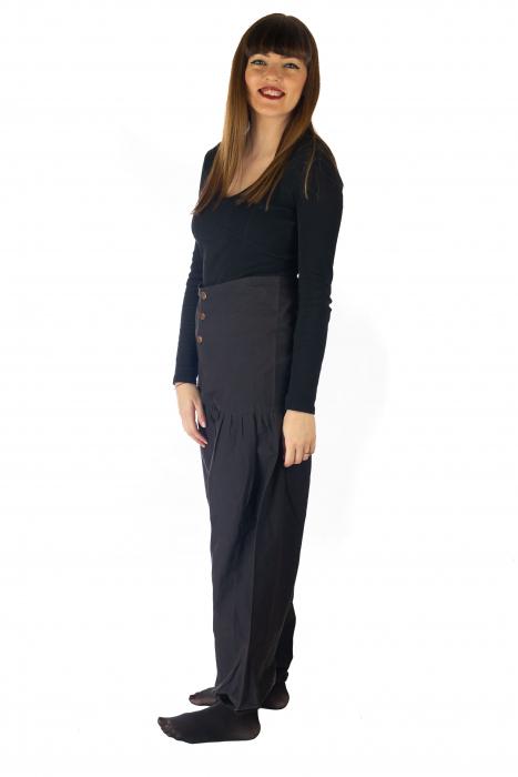 Pantaloni din bumbac - Negru 2