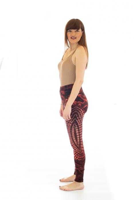 Pantaloni elastici din bumbac pentru Yoga - Model 3 2