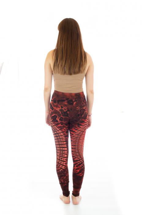 Pantaloni elastici din bumbac pentru Yoga - Model 3 5