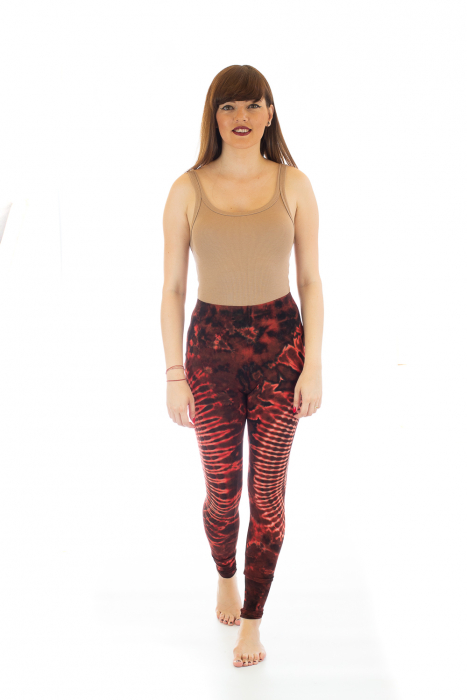 Pantaloni elastici din bumbac pentru Yoga - Model 3 1