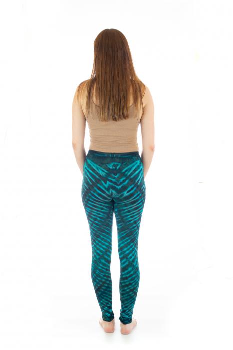 Pantaloni elastici din bumbac pentru Yoga - Model 5 5