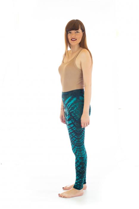 Pantaloni elastici din bumbac pentru Yoga - Model 5 2