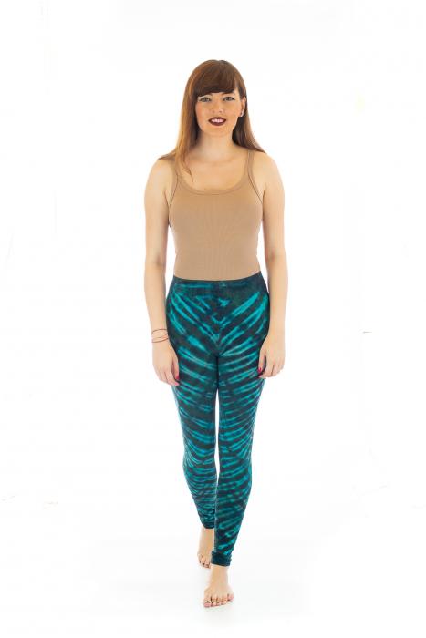 Pantaloni elastici din bumbac pentru Yoga - Model 5 1