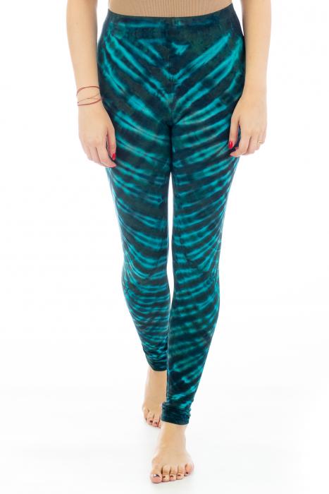 Pantaloni elastici din bumbac pentru Yoga - Model 5 0