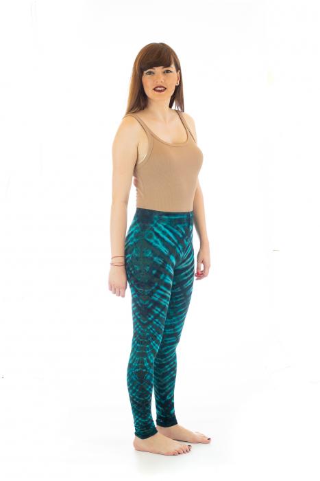Pantaloni elastici din bumbac pentru Yoga - Model 5 3