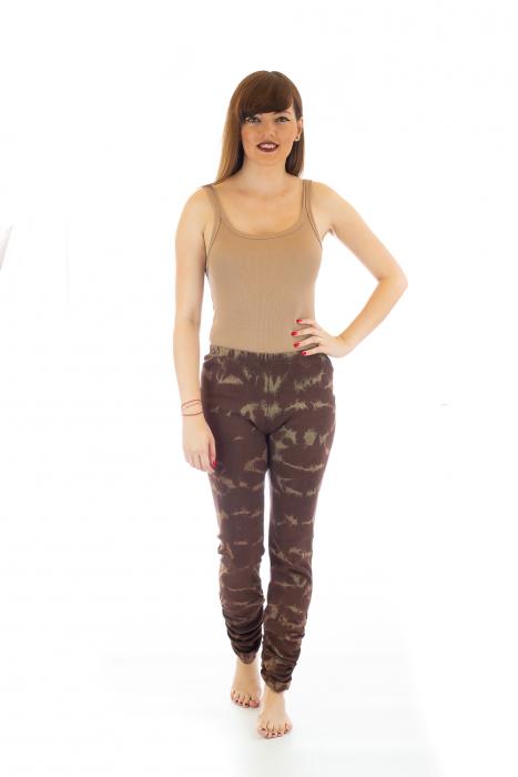 Pantaloni elastici din bumbac pentru Yoga - Model 6 1