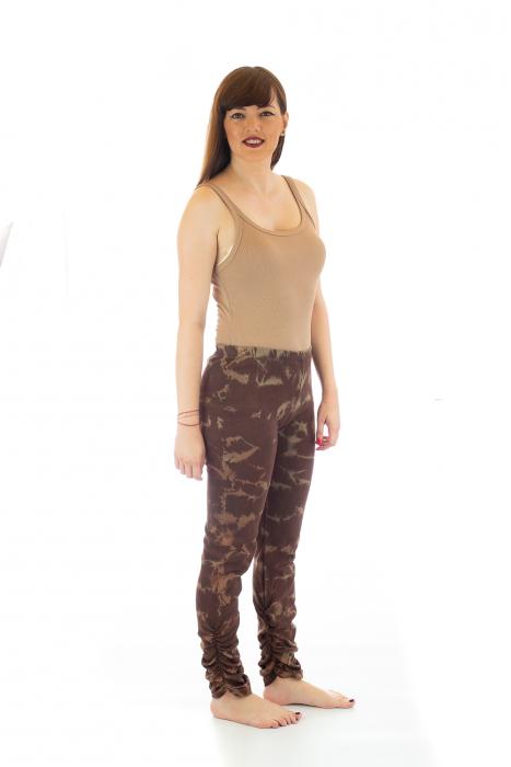 Pantaloni elastici din bumbac pentru Yoga - Model 6 3
