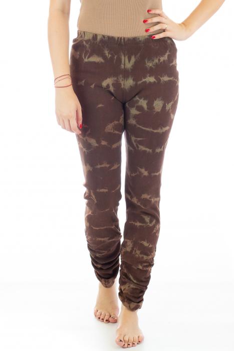 Pantaloni elastici din bumbac pentru Yoga - Model 6 0