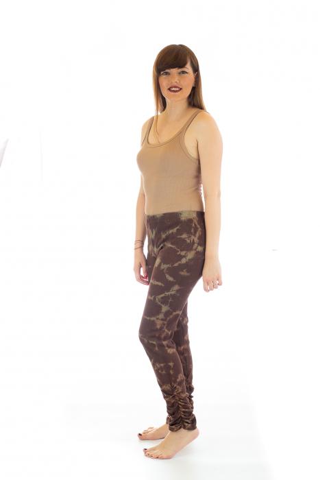 Pantaloni elastici din bumbac pentru Yoga - Model 6 2