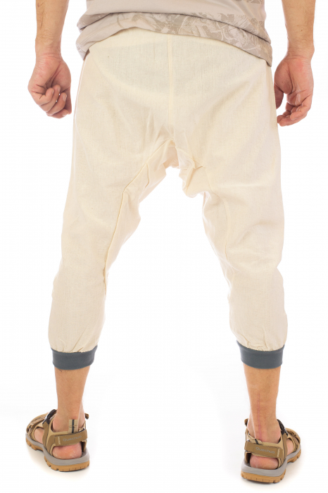 Pantaloni tip salvari trei sferturi - Model 1 3