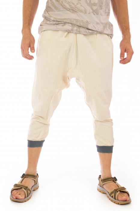 Pantaloni tip salvari trei sferturi - Model 1 0