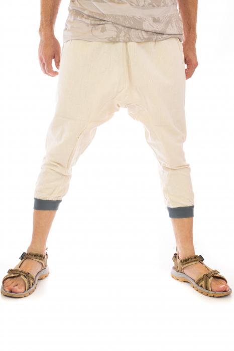 Pantaloni tip salvari trei sferturi - Model 1 1